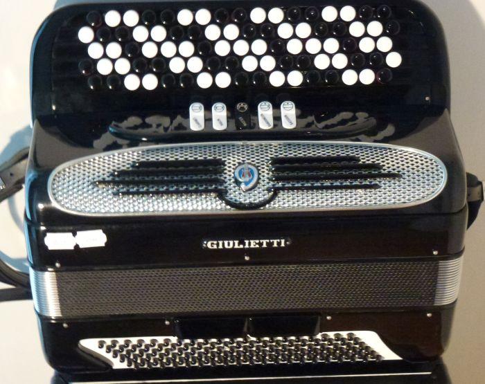 Giulietti MF 52 C<br />Som en ny harmonika